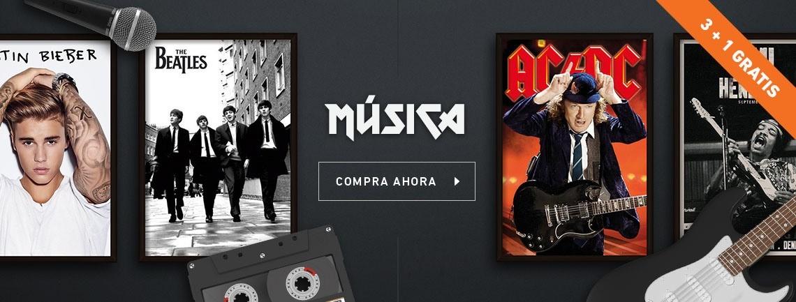 Pósters y carteles de música en Europosters.es