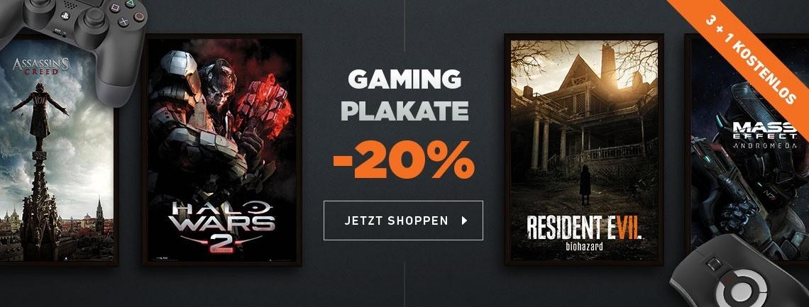 Gaming Plakate
