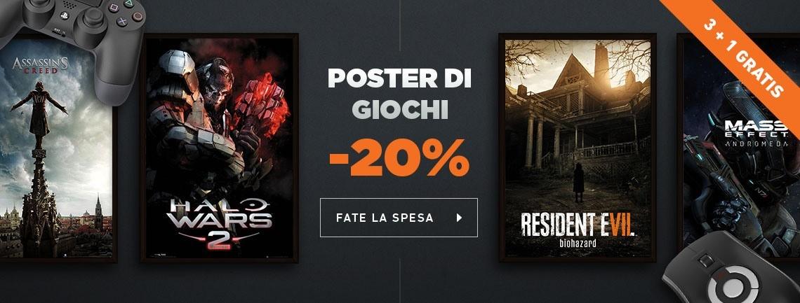 Poster Videogiochi
