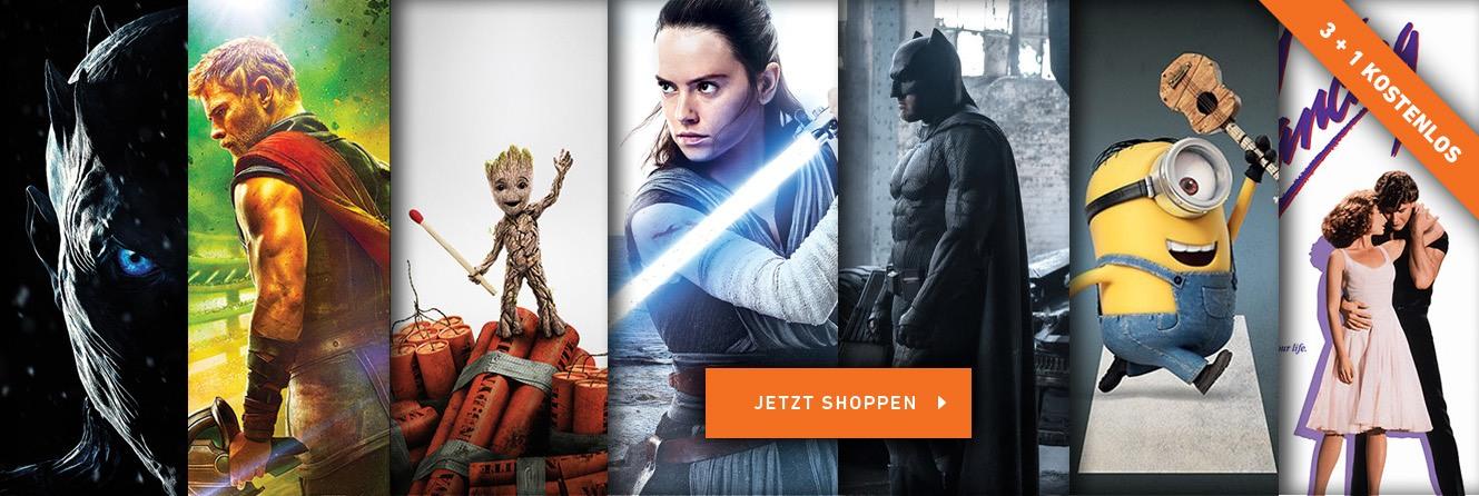Filmposter, Filmplakate | Günstige Poster Online kaufen bei EuroPosters
