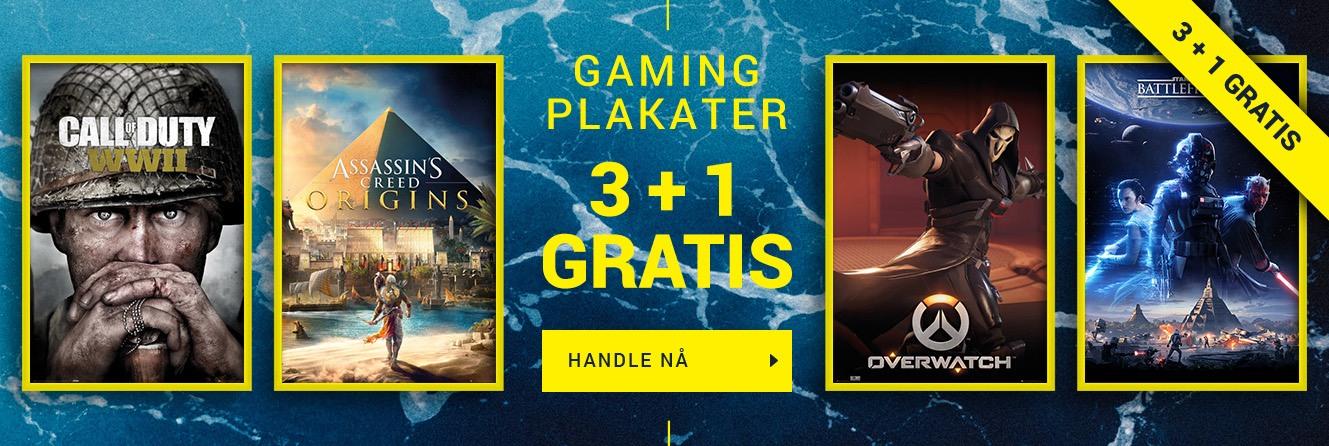 Gaming Plakater