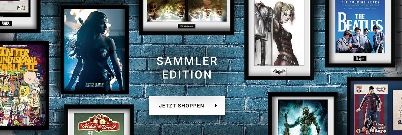 Gerahmte Poster l Sammler-Edition