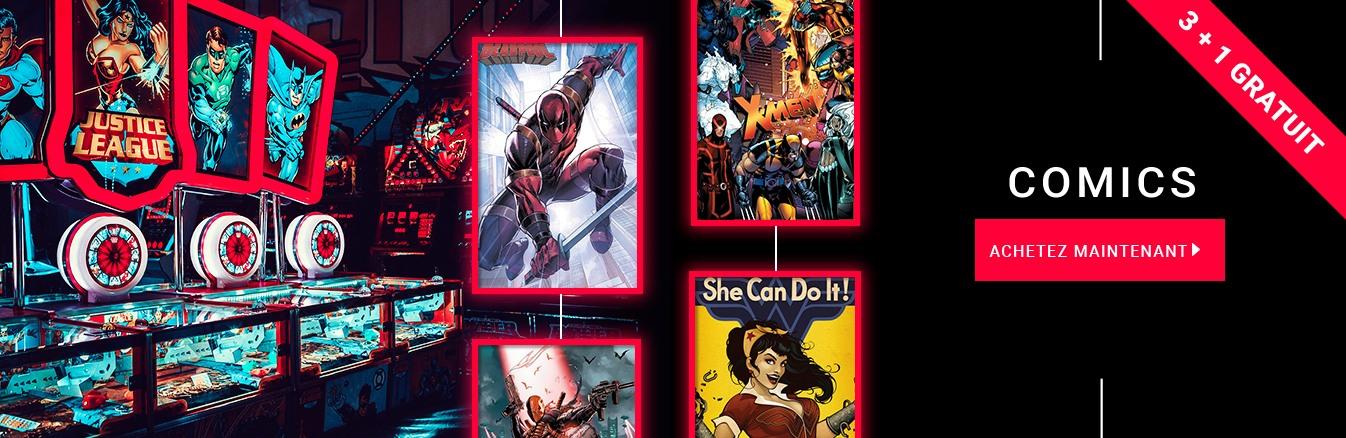 Marvel Et DC Comics Sont Les Grands Noms De Lu0027industrie, Et Nous Avons Bien  Sûr Pleins Du0027autre Posters Et Décorations Murales Pour Le Plaisir Des Yeux.