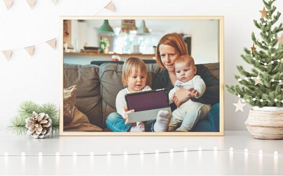 Vaše fotografie jako vánoční dárek