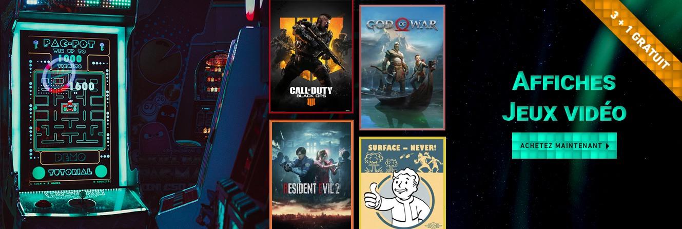 Affiches Jeux vidéo