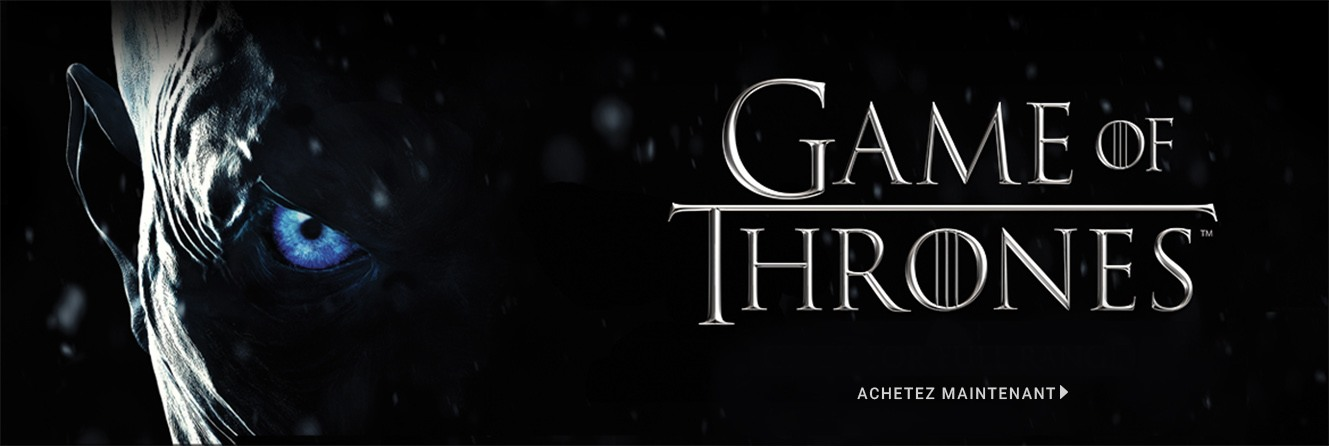 Le trône de fer, Game of Thrones