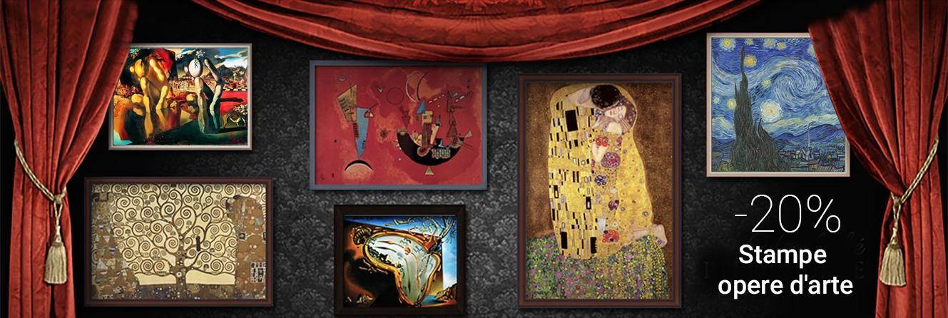 Capolavori d\'arte, Riproduzioni, Artisti famosi e carte da parati