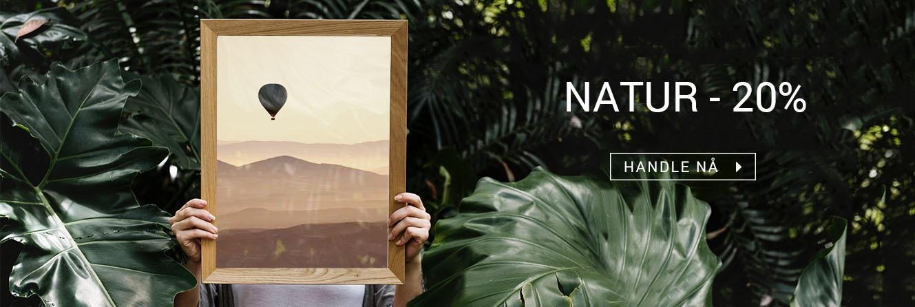 Natur & Landskap<br />Plakater