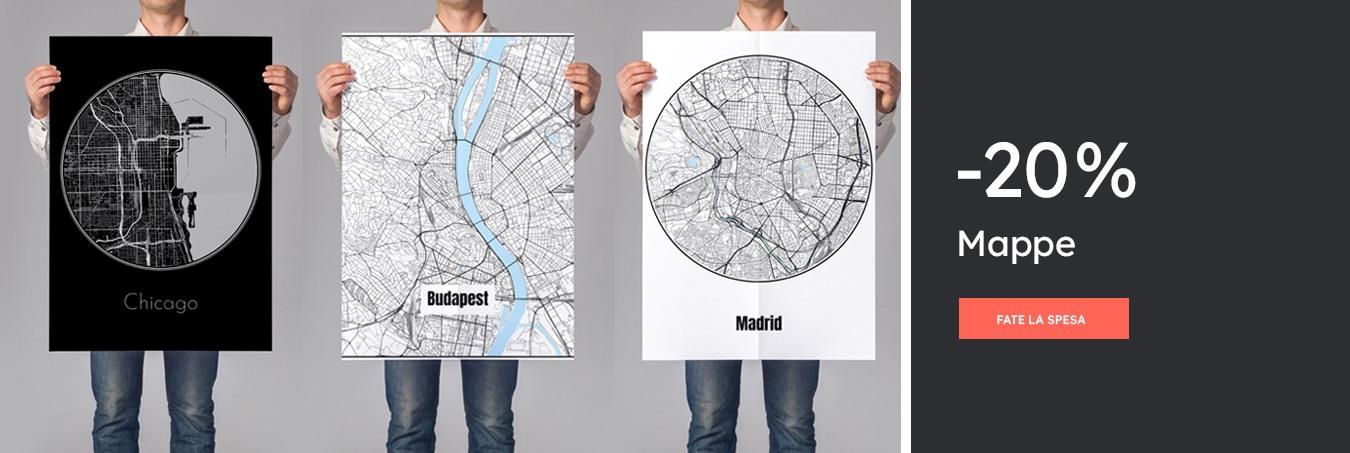 Mappe & Planisfero