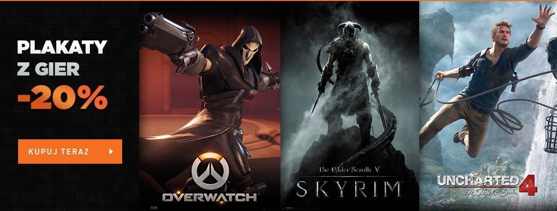 Plakaty z gier