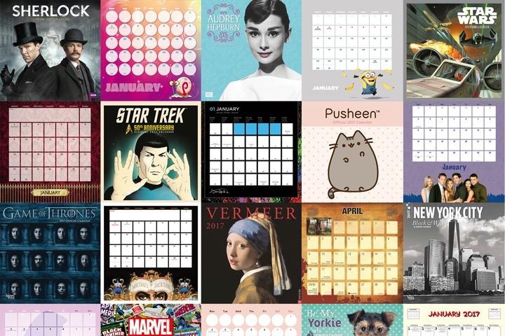 Kalendáře 2017