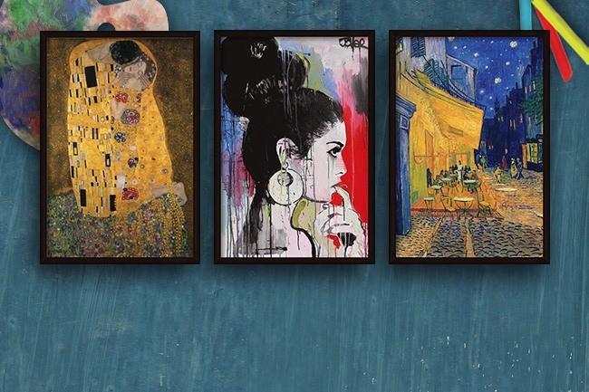 Impresiones de bellas artes